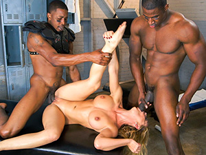 Cheri Deville auditions to be the team slut